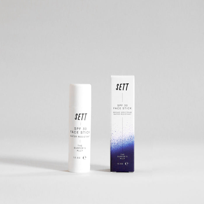 SETT SPF 30 Zinc Face Stick | Front View