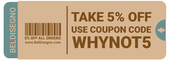 BelDisegno Coupons, Promos & Coupon Codes