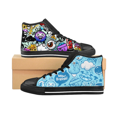Personalized Women's High-top Custom Sneakers