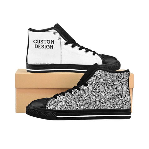 Personalized Men's High-top Custom Sneakers