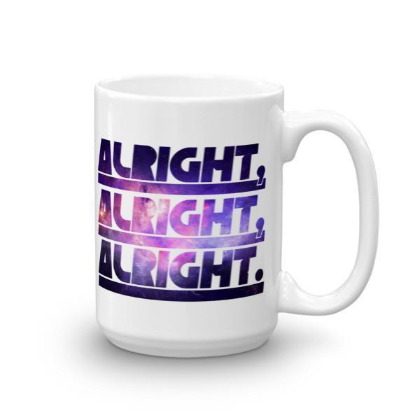 Alright Alright Alright Coffee Mug 15oz Mug BelDisegno