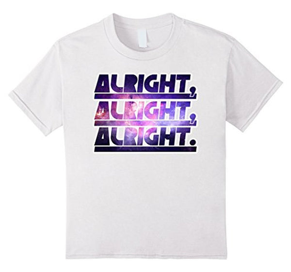 Alright Alright Alright Funny Novelty T-shirt White / 3XL T-Shirt BelDisegno