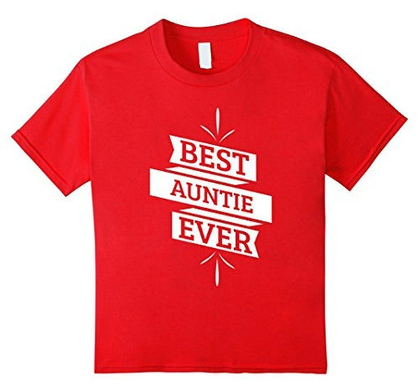 Aunt gifts Best Auntie Ever for favorite aunt T-shirt  T-Shirt BelDisegno