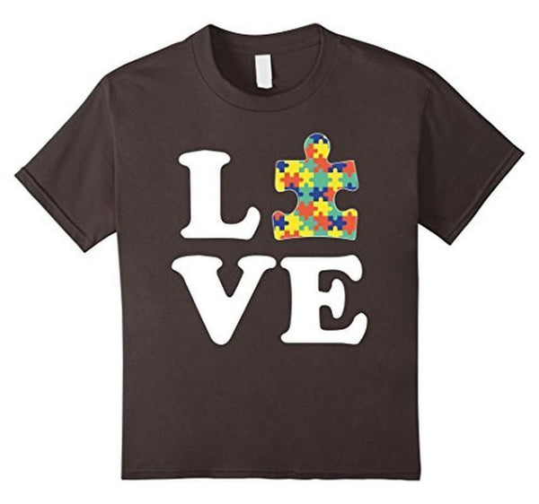 Autism Awareness Autism For Kids Men Moms T-shirt Asphalt / 2XL / Women T-Shirt BelDisegno