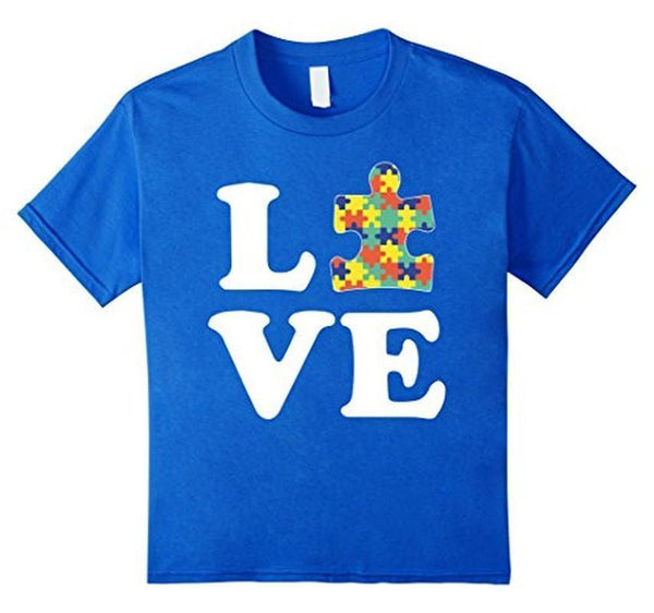 Autism Awareness Autism For Kids Men Moms TShirt-T-Shirt-BelDisegno-Royal Blue-S-BelDisegno