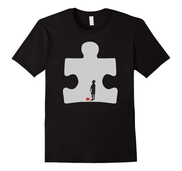 Autism Awareness T-shirt Black / 3XL T-Shirt BelDisegno