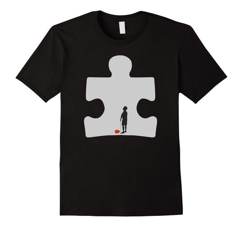 Autism Awareness TShirt-T-Shirt-BelDisegno-Black-S-BelDisegno