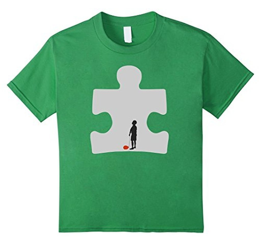 Autism Awareness T-shirt Grass / 3XL T-Shirt BelDisegno