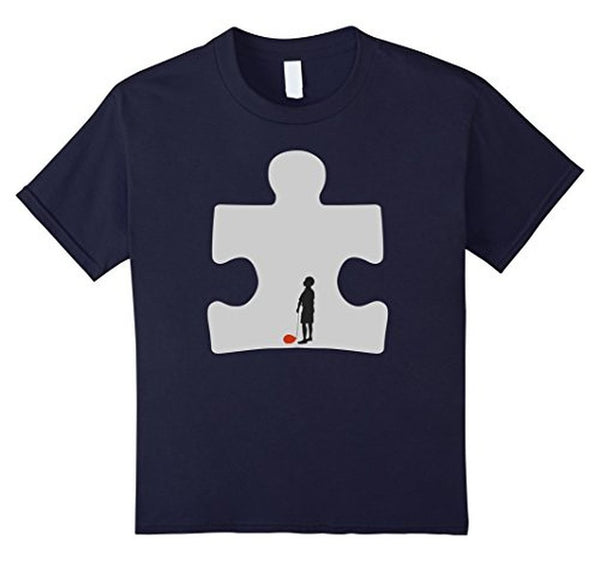 Autism Awareness T-shirt Navy / 3XL T-Shirt BelDisegno