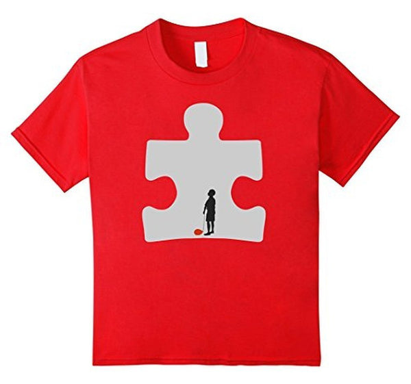 Autism Awareness T-shirt Red / 3XL T-Shirt BelDisegno