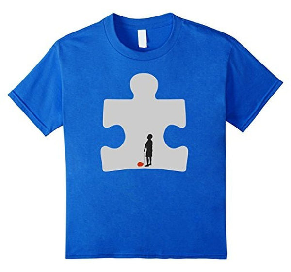 Autism Awareness T-shirt Royal Blue / 3XL T-Shirt BelDisegno