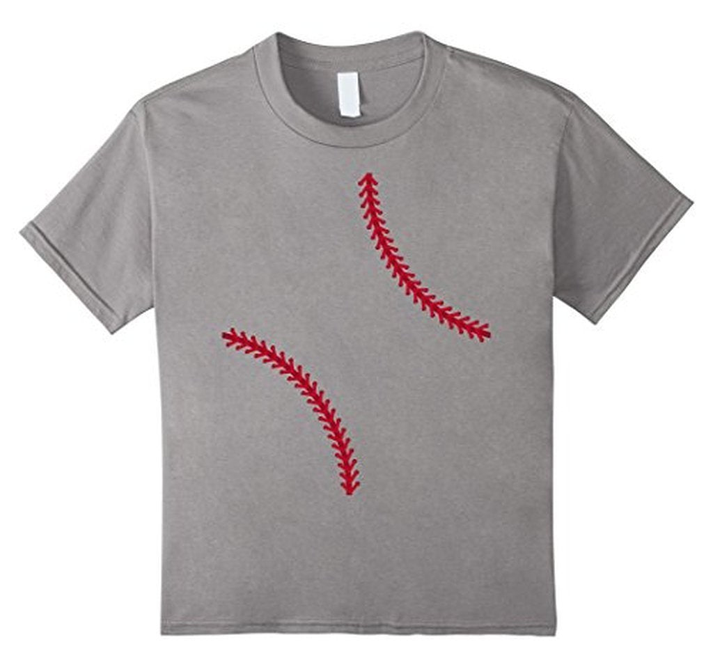 Baseball Softball T-shirt Color: Heather GreySize: S