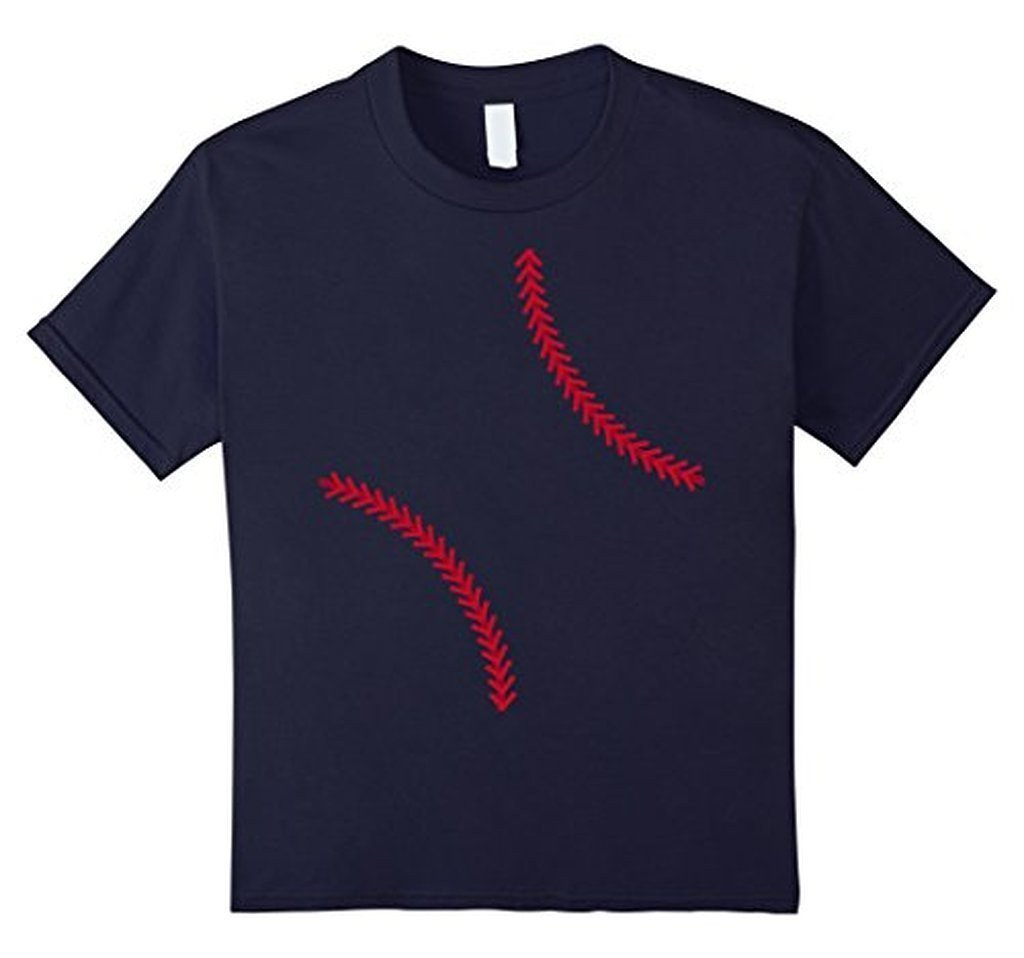 Baseball Softball T-shirt Color: NavySize: S