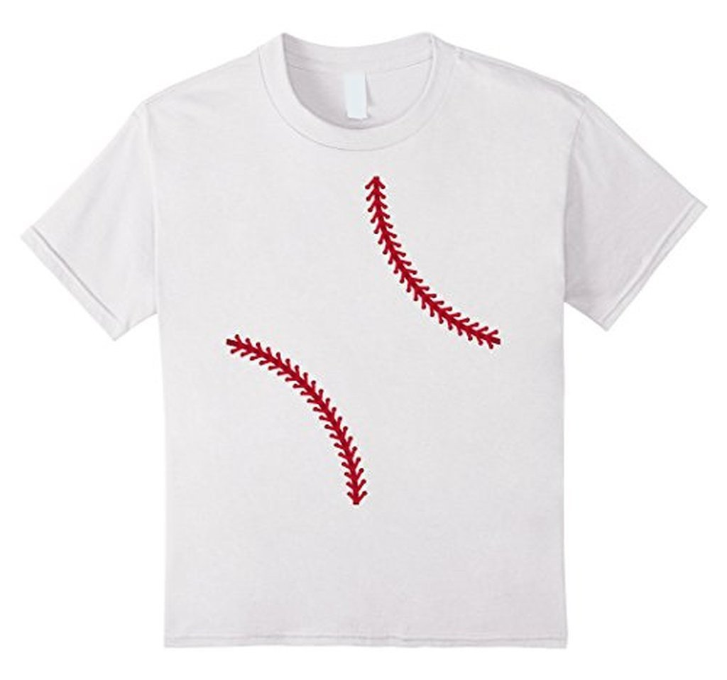 Baseball Softball T-shirt Color: WhiteSize: S