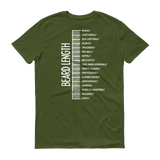 Beard length MEN T-shirt City Green / 3XL T-Shirt BelDisegno