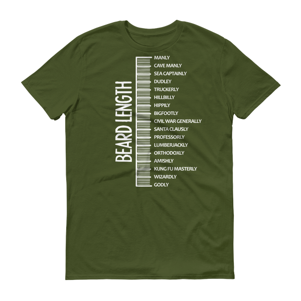 Beard length MEN TShirt-T-Shirt-BelDisegno-City Green-S-BelDisegno