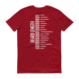 Beard length MEN T-shirt Independence Red / 3XL T-Shirt BelDisegno