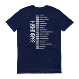 Beard length MEN T-shirt Navy / 3XL T-Shirt BelDisegno