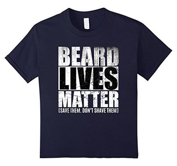 BEARD LIVES MATTER , save them don't shave them TShirt-T-Shirt-BelDisegno-Navy-S-Men-BelDisegno