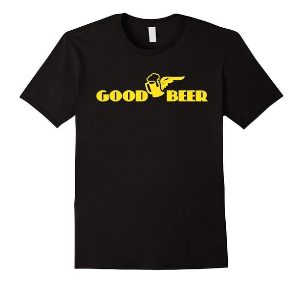 beer t s Adult Beer Funny Drinking T T-shirt Black / 3XL T-Shirt BelDisegno
