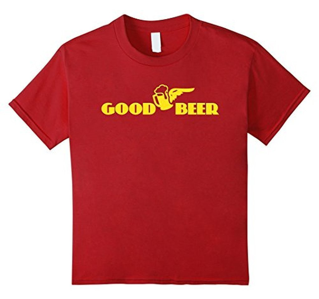 beer t s Adult Beer Funny Drinking T T-shirt Cranberry / 3XL T-Shirt BelDisegno