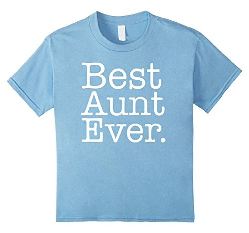 Best Aunt Ever Favorite Aunt gifts T-shirt Baby Blue / XL T-Shirt BelDisegno