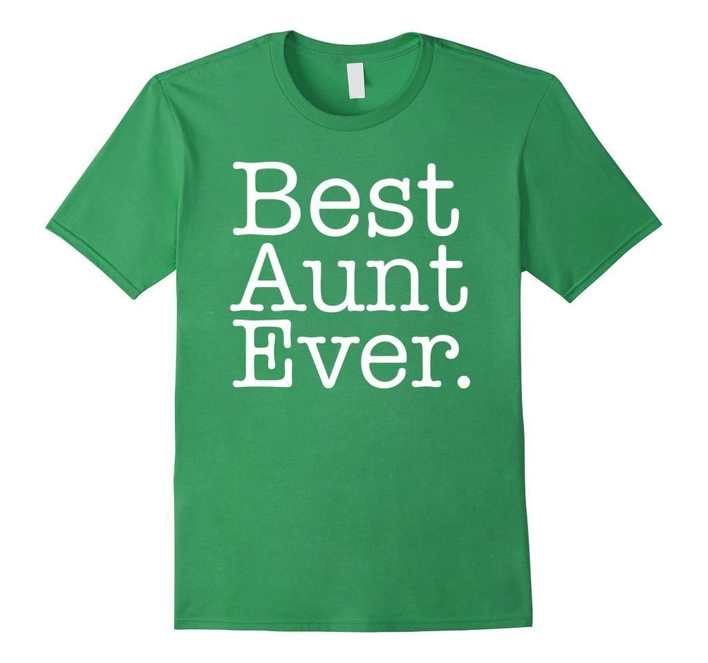 Best Aunt Ever Favorite Aunt gifts T-shirt Grass / XL T-Shirt BelDisegno