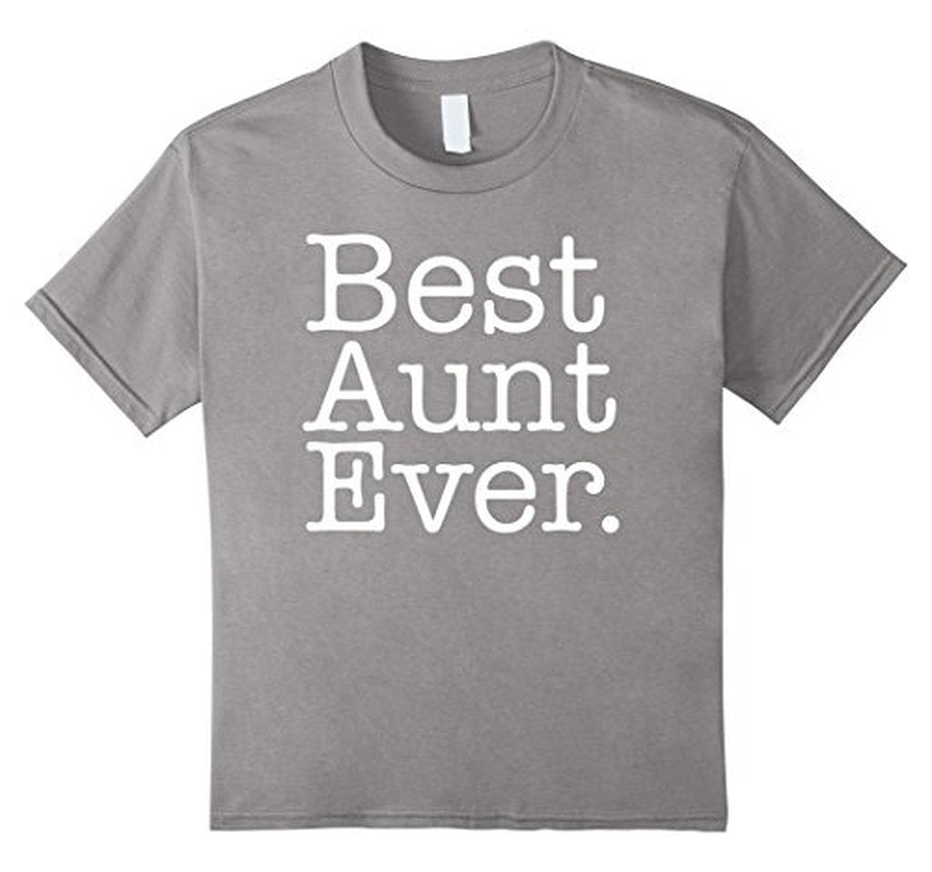 Best Aunt Ever Favorite Aunt gifts T-shirt Heather Grey / XL T-Shirt BelDisegno