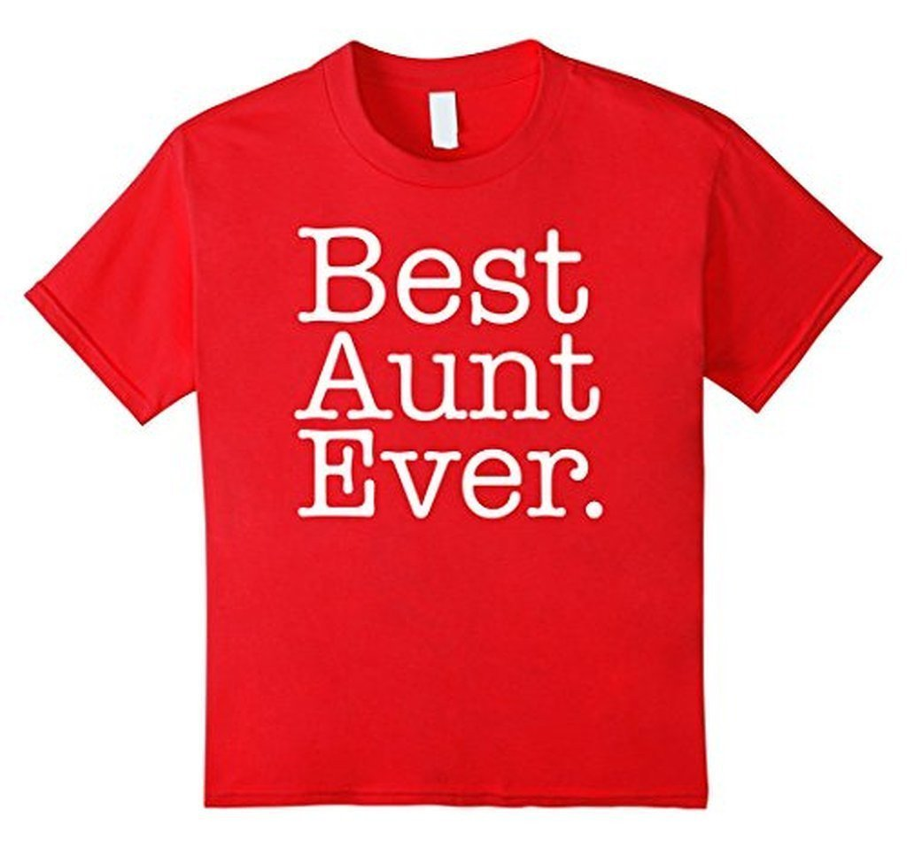 Best Aunt Ever Favorite Aunt gifts T-shirt Red / XL T-Shirt BelDisegno