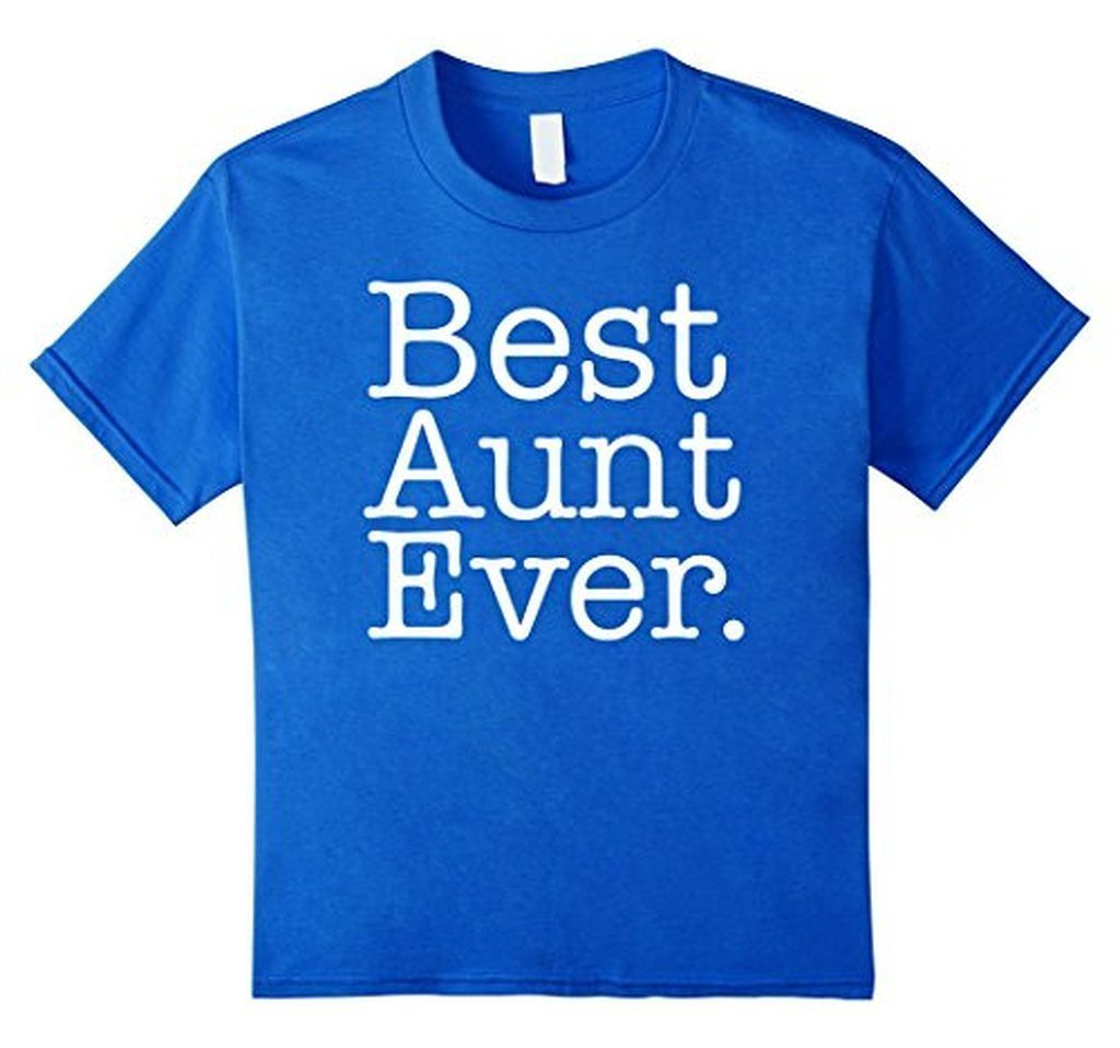 Best Aunt Ever Favorite Aunt gifts T-shirt Royal Blue / XL T-Shirt BelDisegno