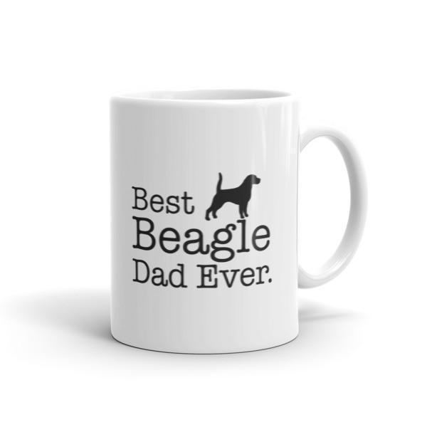 Best Beagle Dad Ever Coffee Mug Size: 11oz