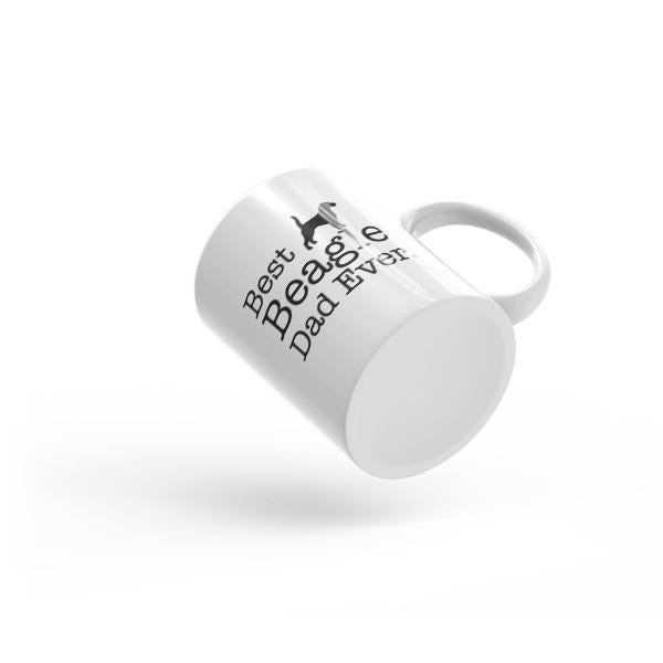 Best Beagle Dad Ever Coffee Mug  Mug BelDisegno