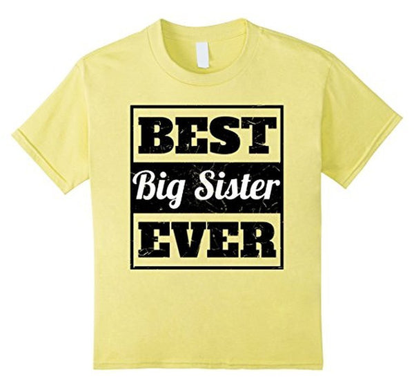 Best Big Sister Ever sister gifts T-shirt Default Title T-Shirt BelDisegno