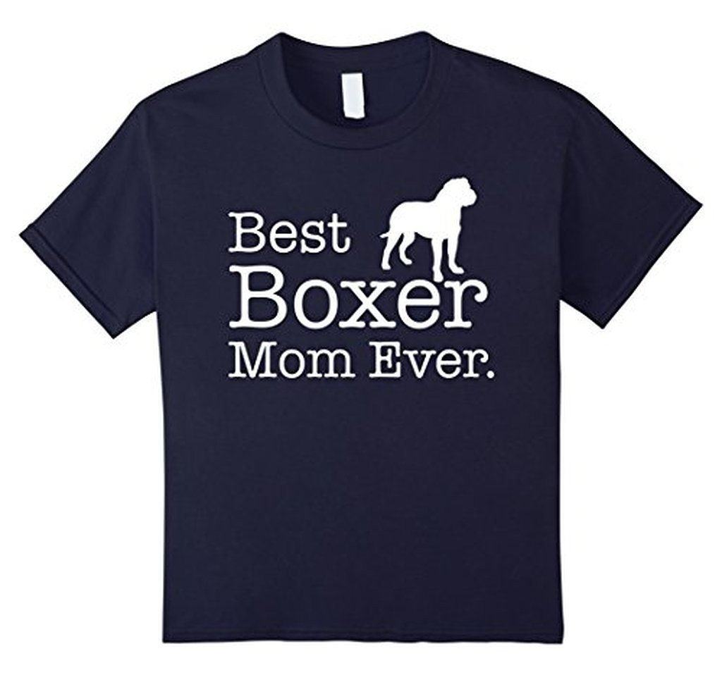 Best Boxer Mom Ever Pet Kitten Animal Parenting T-shirt 2XL / Black T-Shirt BelDisegno