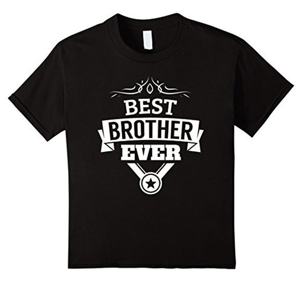 Best Brother Ever funny gift for brothers T-shirt Black / 3XL T-Shirt BelDisegno