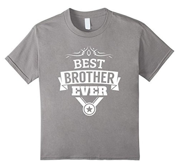 Best Brother Ever funny gift for brothers T-shirt Heather Grey / 3XL T-Shirt BelDisegno