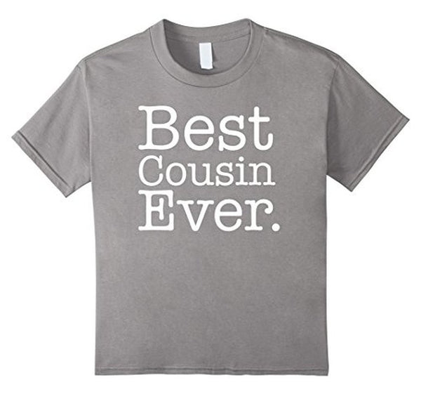 Best Cousin Ever s T-shirt Heather Grey / 3XL T-Shirt BelDisegno
