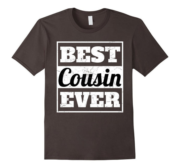 Best Cousin Ever t T-shirt Asphalt / 3XL T-Shirt BelDisegno