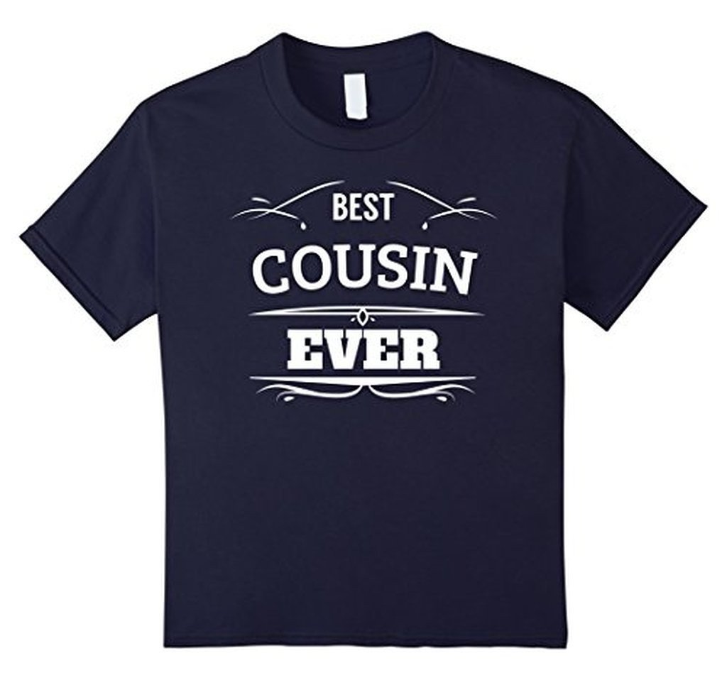 Best Cousin Ever t T-shirt Color: NavySize: S