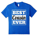 Best Cousin Ever t T-shirt Royal Blue / 3XL T-Shirt BelDisegno