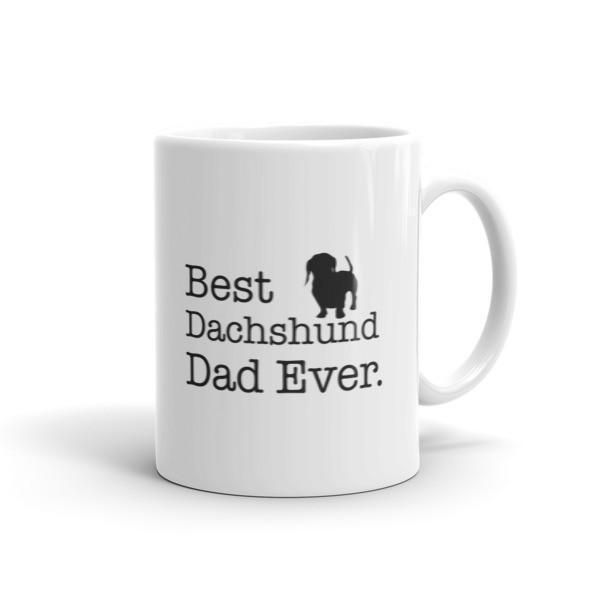 Best Dachshund Dad Ever Dog Lovers Gift Coffee Mug 11oz Mug BelDisegno