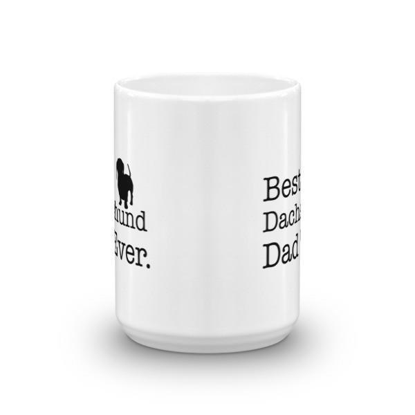 Best Dachshund Dad Ever Dog Lovers Gift Coffee Mug  Mug BelDisegno