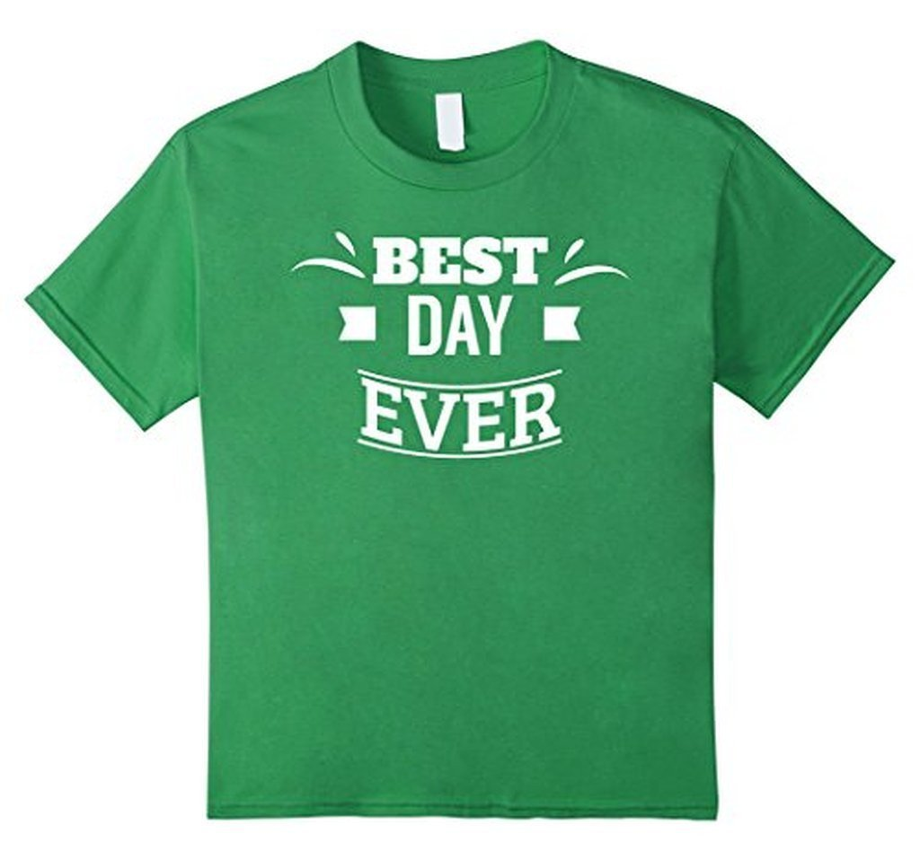 Best Day Ever Wedding Gift T T-shirt Grass / 3XL T-Shirt BelDisegno