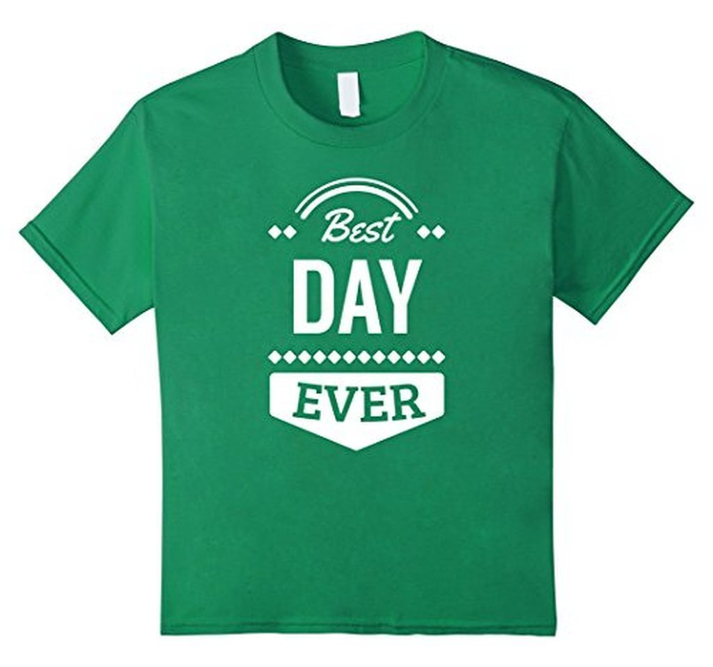 Best Day Ever Wedding Gift T T-shirt Kelly Green / 3XL T-Shirt BelDisegno