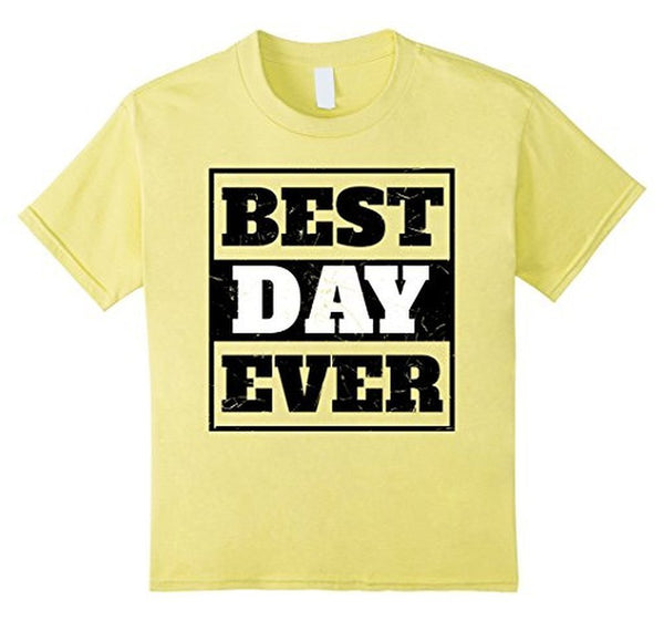 Best Day Ever Wedding Gift T T-shirt Lemon / 3XL T-Shirt BelDisegno