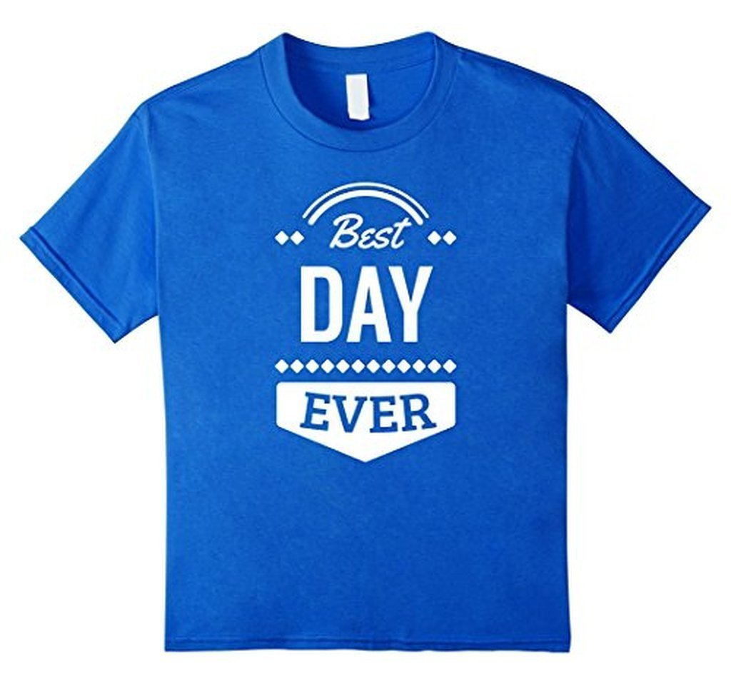 Best Day Ever Wedding Gift T T-shirt Royal Blue / 3XL T-Shirt BelDisegno