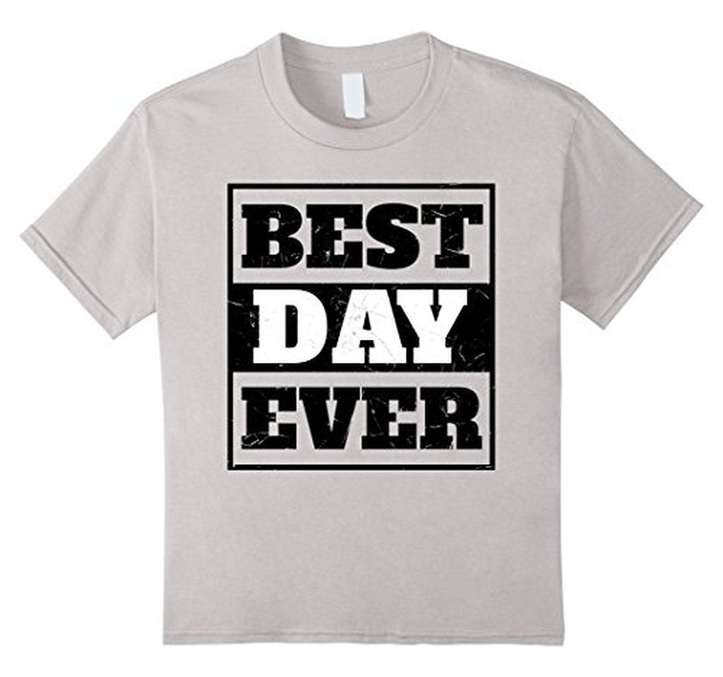 Best Day Ever Wedding Gift T T-shirt White / 3XL T-Shirt BelDisegno