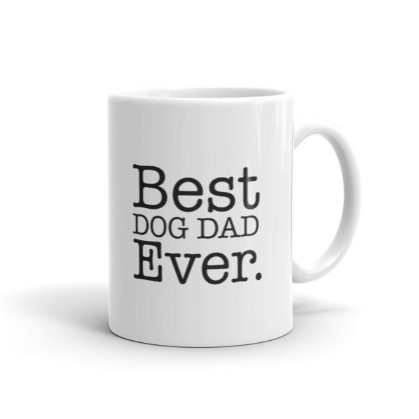 Best DOG DAD Ever Coffee Mug 11oz Mug BelDisegno