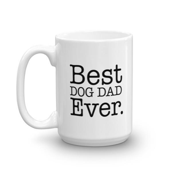 Best DOG DAD Ever Coffee Mug  Mug BelDisegno