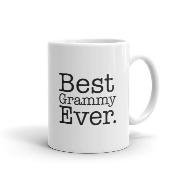 Best Grammy Ever Coffee Mug-Mug-BelDisegno-11oz-BelDisegno